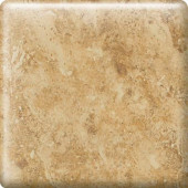 Heathland Amber 2 in. x 2 in. Glazed Ceramic Bullnose Corner Wall Tile