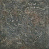 Mt. Everest 12 in. x 12 in. Nero Porcelain Floor and Wall Tile-DISCONTINUED