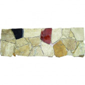 Spanish Rock Strip 4 in. x 12 in. Marble Listello Floor and Wall Tile