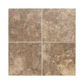 San Michele Moka Cross-Cut 12 in. x 12 in. Glazed Porcelain Floor and Wall Tile (9.79 sq. ft. / case)-DISCONTINUED