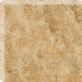 Heathland Amber 3 in. x 3 in. Glazed Ceramic Bullnose Corner Wall Tile