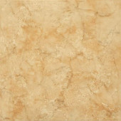 Illusione Caramel 16 In. x 16 In. Glazed Ceramic Floor & Wall Tile (16.15 sq. ft./Case)-DISCONTINUED