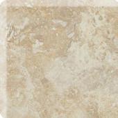 Heathland Raffia 3 in. x 3 in. Glazed Ceramic Bullnose Corner Wall Tile