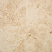 Jurastone Beige 18 in. x 18 in. Natural Stone Floor and Wall Tile (13.5 sq. ft. / case)