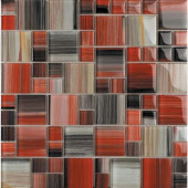 Contempo Abbott-1675 Mosaic Glass 12 in. x 12 in. Mesh Mounted Tile (5 sq. ft.)
