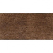 Riflessi di Legno 23-7/16 in. x 5-13/16 in. Walnut Porcelain Floor and Wall Tile (9.46 sq. ft. / case)