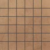 Murano Nocce 12 in. x 12 in. Glazed Porcelain Mosaic Floor & Wall Tile-DISCONTINUED