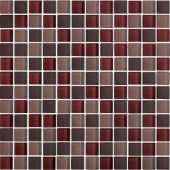 Color Blends Especia Neblina-1603-M Matte Mosaic Glass Mesh Mounted Tile - 4 in. x 4 in. Tile Sample-DISCONTINUED
