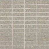 Identity Cashmere Gray Fabric Porcelain Sheet-Mounted Floor and Wall Tile (9 sq. ft. / case)-DISCONTINUED