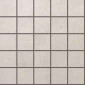 Murano Light Grey 12 in. x 12 in. Glazed Porcelain Mosaic Floor & Wall Tile-DISCONTINUED