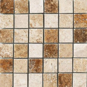 Montagna Blended 12 in. x 12 in. Porcelain Mosaic Floor and Wall Tile