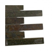 Roman Selection Emperial Slate Glass Floor and Wall Tile Sample