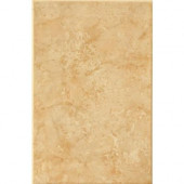 Illusione 8 in. x 12 in. Caramel Ceramic Wall Tile (16.15 sq. ft./Case)-DISCONTINUED