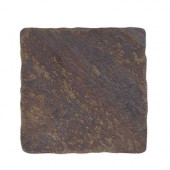 Indian Slate 4 in. x 4 in. x 8 mm Floor and Wall Tile (9 pieces/1 sq. ft./1pack)