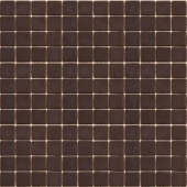 Coffeez Espresso-1103 Mosaic Recycled Glass 12 in. x 12 in. Mesh Mounted Floor & Wall Tile (5 sq. ft.)