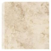 Brancacci Windrift Beige 6 in. x 6 in. Ceramic Bullnose Corner Trim Wall Tile