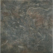 Mt. Everest Nero 18 in. x 18 in. Glazed Porcelain Floor & Wall Tile (13.13 Sq. ft./Case)-DISCONTINUED