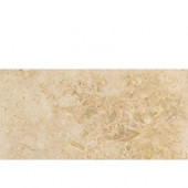 Travertine Turco Classico 9 in. x 18 in. Natural Stone Floor and Wall Tile (9 sq. ft. / case)-DISCONTINUED