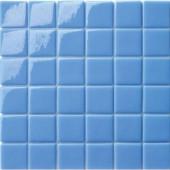 12.5 in. x 12.5 in. Capri Azzurro Glossy Glass Tile-DISCONTINUED