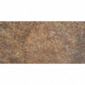 Granite Marron 6 in. x 12 in. Glazed Porcelain Floor and Wall Tile (9.69 sq. ft./case)-DISCONTINUED