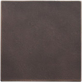 4 in. x 4 in. Cast Metal Field Tile Dark Oil Rubbed Bronze Tile (8 pieces / case) - Discontinued
