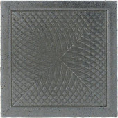 Urban Metals Stainless 2 in. x 2 in. Composite Spiral Insert Trim Wall Tile