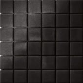 12.5 in. x 12.5 in. Capri Nero Grip Glass Tile-DISCONTINUED