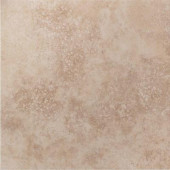 Tuscany Ivory 18 in. x 18 in. Glazed Porcelain Floor & Wall Tile-DISCONTINUED
