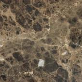 18 in. x 18 in. Emperador Dark Marble Floor and Wall Tile (9 sq. ft. / case)