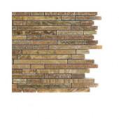 Windsor Random Wood Onyx Marble Floor and Wall Tile Sample