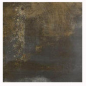 Acadia 16 in. x 16 in. Lava Porcelain Floor Tile-DISCONTINUED