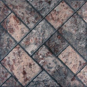 Milano Graphite 17 in. x 17 in. Glazed Ceramic Floor and Wall Tile (26.91 sq. ft. / case)