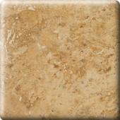 Heathland Amber 6 in. x 6 in. Glazed Ceramic Bullnose Corner Wall Tile