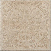 Ridgeway Fawn 6-1/2 in. x 6-1/2 in. Porcelain Decorative Floor and Wall Tile (3.52 sq. ft. / case)