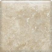 Heathland White Rock 6 in. x 6 in. Glazed Ceramic Bullnose Wall Tile