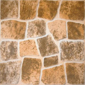 Caliza Beige 16 in. x 16 in. Glazed Ceramic Floor & Wall Tile-DISCONTINUED