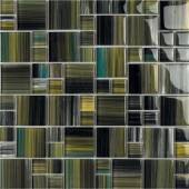 Contempo Tatara-1671 Mosaic Glass 12 in. x 12 in. Mesh Mounted Tile (5 Sq. Ft./Case)-DISCONTINUED