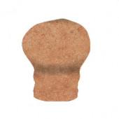 Sanford Adobe 1 in. x 2 in. V-Cap Corner in Ceramic Wall Tile (4 pieces / case)-DISCONTINUED