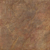 Mt. Everest 18 in. x 18 in. Rosso Porcelain Floor and Wall Tile-DISCONTINUED