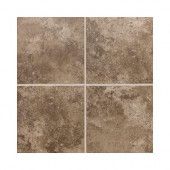 Stratford Place Truffle 18 in. x 18 in. Ceramic Floor and Wall Tile (18 sq. ft. / case)