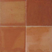 Saltillo Sealed Antique Adobe 12 in. x 12 in. Ceramic Floor and Wall Tile (10 sq. ft. / case)-DISCONTINUED
