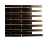 Metal Copper Brick Stainless Steel Floor and Wall Tile Sample