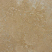 Noce Premium 18 in. x 18 in. Honed Travertine Floor and Wall Tile