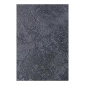 Continental Slate Asian Black 12 in. x 18 in. Porcelain Floor and Wall Tile (13.5 sq. ft. / case)