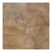 Florenza Brun 18 in. x 18 in. Porcelain Floor and Wall Tile (13.08 sq. ft. / case)-DISCONTINUED