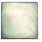 4 in. x 4 in. Pewter Field Metal Floor and Wall Tile