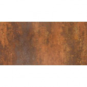 Vanity 12 in. x 24 in. Rust Porcelain Floor and Wall Tile (11.63 sq. ft. / case)