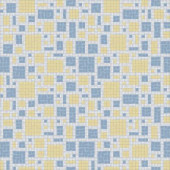 Scatter Beach Motif 24 in. x 24 in. Glass Wall and Light Residential Floor Mosaic Tile
