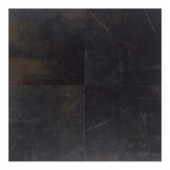 Concrete Connection Downtown Black 20 in. x 20 in. Porcelain Floor and Wall Tile (16.27 q. ft. / case)