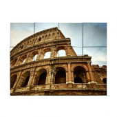 Colosseum 24 in. x 18 in. Tumbled Marble Tiles (3 sq. ft. /case)